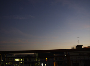 一眼レフカメラで撮影した夕暮れ。その2