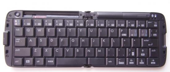 開いたときのキーボード