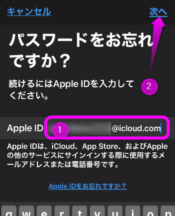 Apple id 生年 月 日 入力 できない